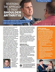 Treat Shoulder Arthritis